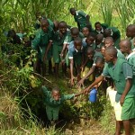 The Water Project: Butenje Primary School Well -