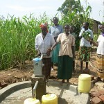 The Water Project: Ebuhayi Nursery School Well -