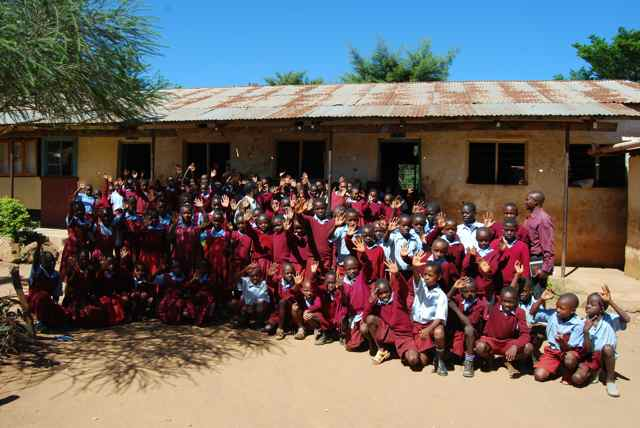 Photo of Nabongo Primary School Well - Kenya
