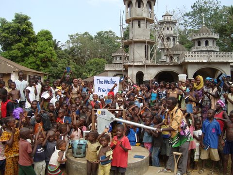 Photo of Lungi, Mayaya Well Rehabilitation