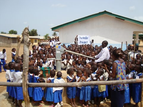 Photo of Masoila Baptist Primary School Well Rehabilitation