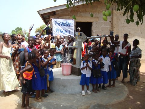 Photo of Rotifunk Victory Primary School and Church Well Rehabilitation