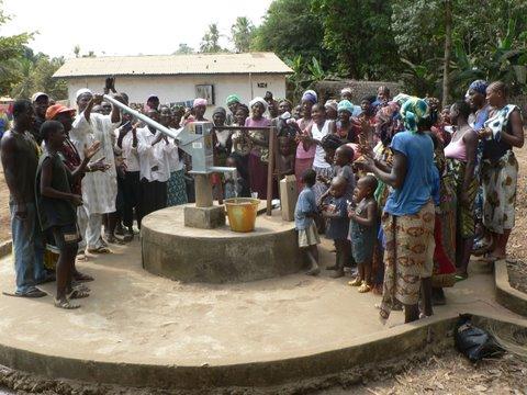 Photo of Tombo Bana Community Well Rehabilitation