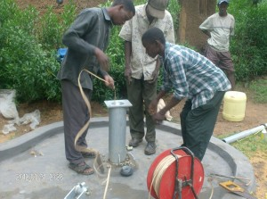 The Water Project : measuring-static-water-level