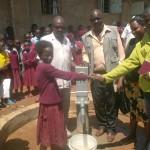 The Water Project: Nabongo Primary School Well - Kenya -