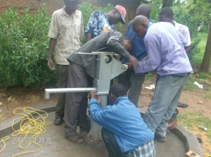 The Water Project : pump-head-attachment