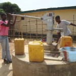 The Water Project: Rotifunk Baptist Primary School Well Rehabilitation -
