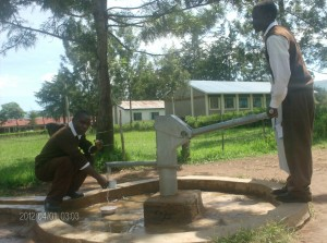 The Water Project : students-fetching-water