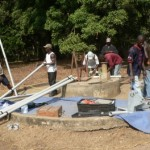 The Water Project: Tombo Bana Community Well Rehabilitation -