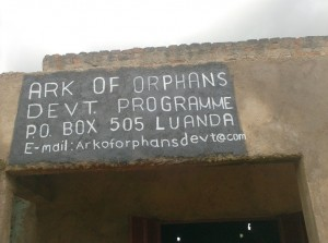 The Water Project : ark-of-orphans-signpost_web