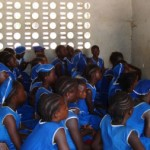The Water Project: Gbaneh Bana SLMB Primary School Well Rehabilitation -