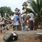 The Water Project: Lungi, Masoila, #3 Kamara St. Well Rehabilitation -