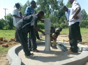 The Water Project : ack-enanga-attachment-of-water-tank
