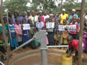 The Water Project : ark-of-orphans-members-expressing-their-thanks-during-handover-ceremony-2