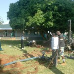 The Water Project: Emalindi Girls Secondary School Well -