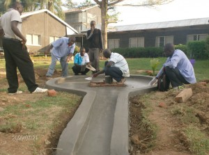 The Water Project : mukumu-girls-school-construction-process
