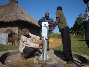 The Water Project : pump-attachment-emulundu-community