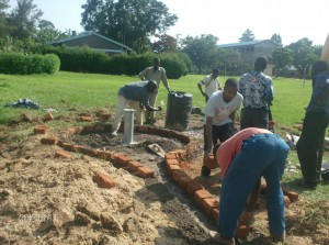 The Water Project : stmarys-girls-high-schoolconstruction-process
