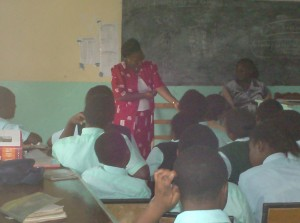 The Water Project : emalindi-principal-talking-to-students