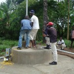 The Water Project: Magbamamaty Village Well Repair Project -
