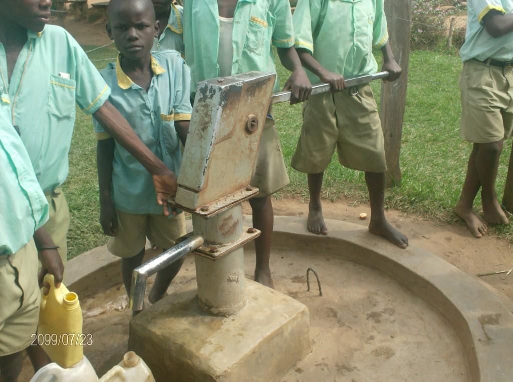 Photo of Eburenga Primary School Well Rehab