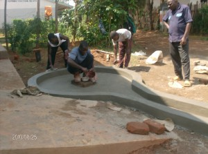 The Water Project : matende-secondary-school-well-construction-1
