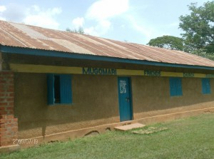 The Water Project : mugomari-church