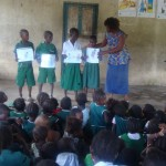 The Water Project: UMC Primary School - Makeni Well Rehabilitation -