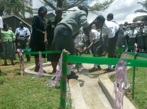 The Water Project : jubilant-students-of-mukumu-girls