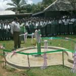 The Water Project: Mukumu Girls School Well -