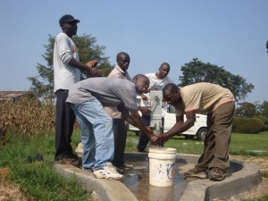 The Water Project : stmarys-secschool-water-flowing