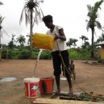 The Water Project: Kamara Street Well Rehabilitation -