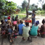 The Water Project: Gboilla Village Well Repair -