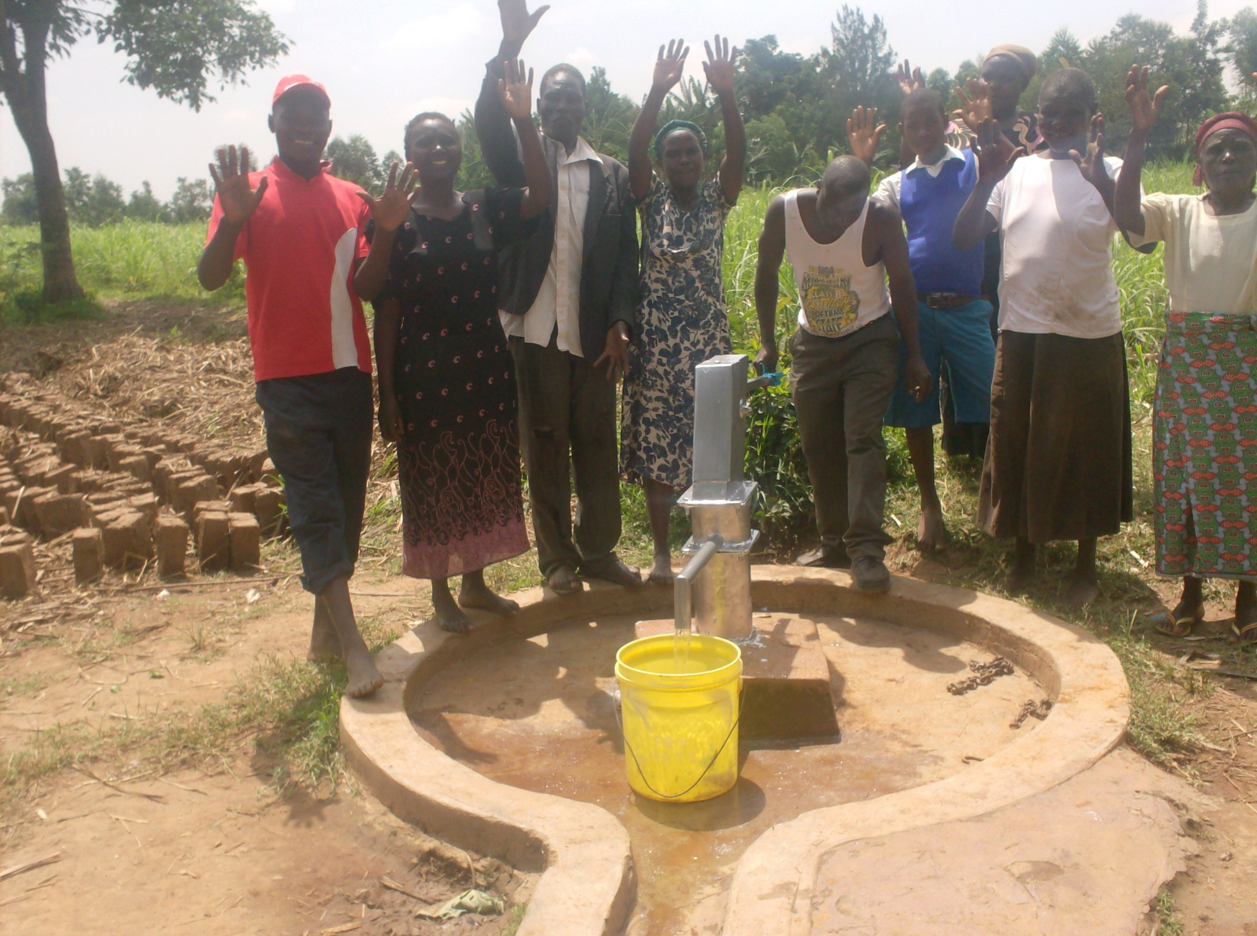 The Water Project : aleko-community-well-hand-over-ceremony-after-rehab