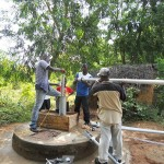 The Water Project: Lungi - Masoila - 28 Conteh St Well Rehabilitation -