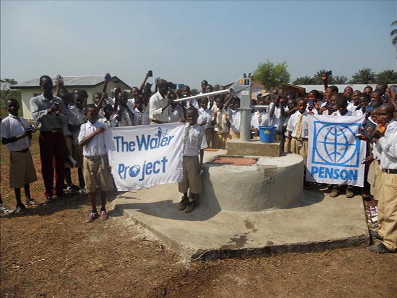 Photo of Komkanda Memorial Secondary School Well Rehabilitation