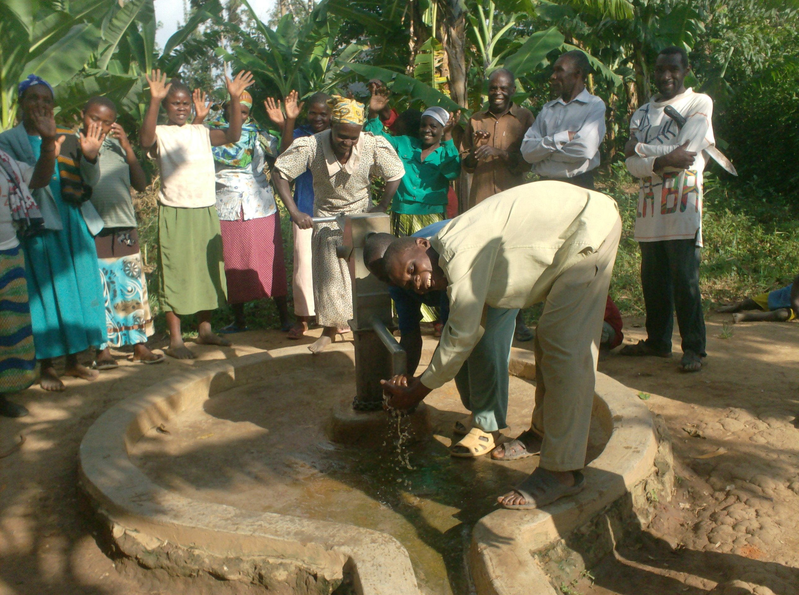 The Water Project : sokone-community-well-hand-over-ceremony-after-well-rehab