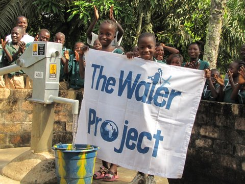 Photo of Magbafti Village, Huntingdon Primary School WaSH Project