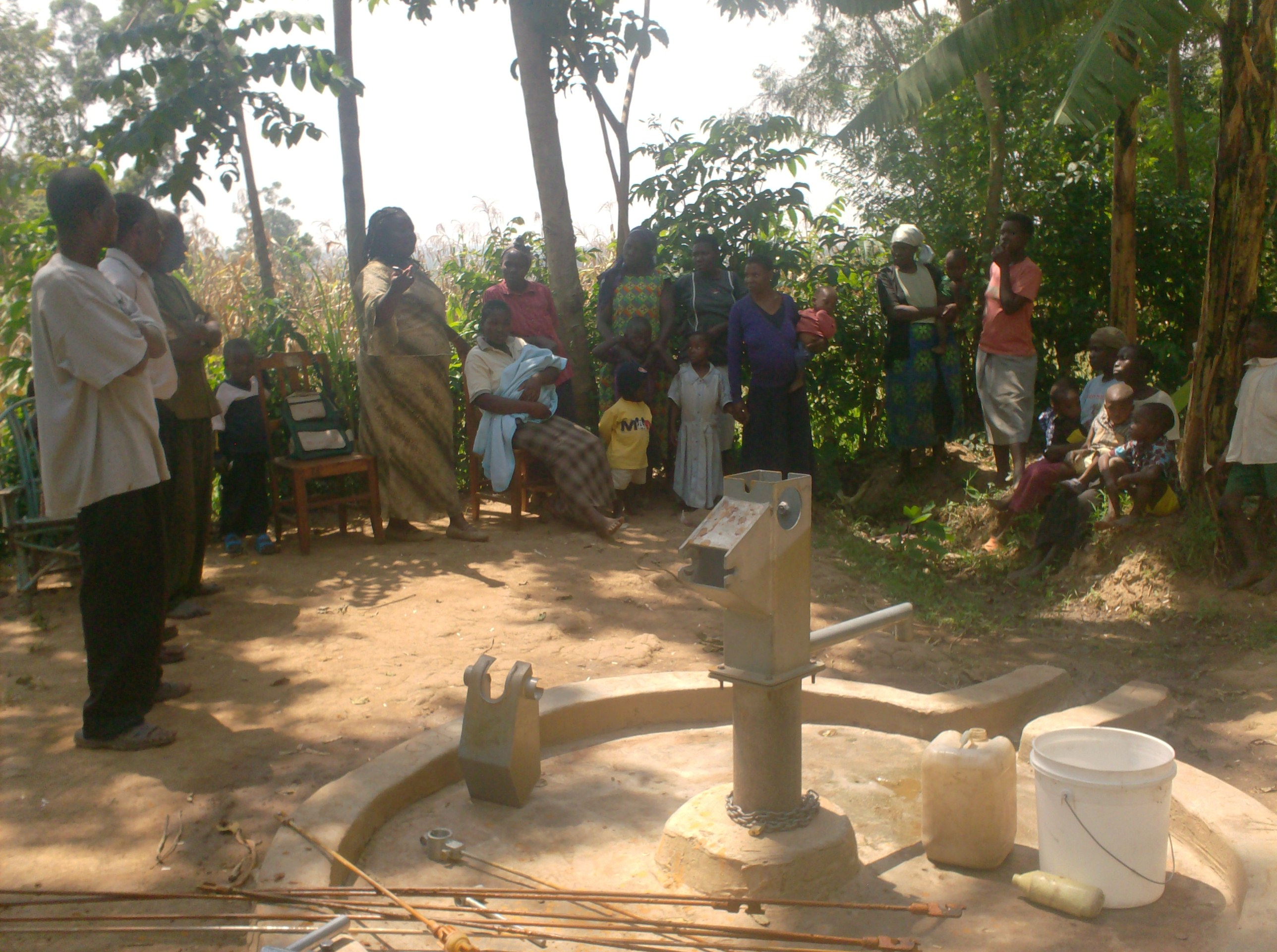 The Water Project Kenya Sokone School Amp Community Well