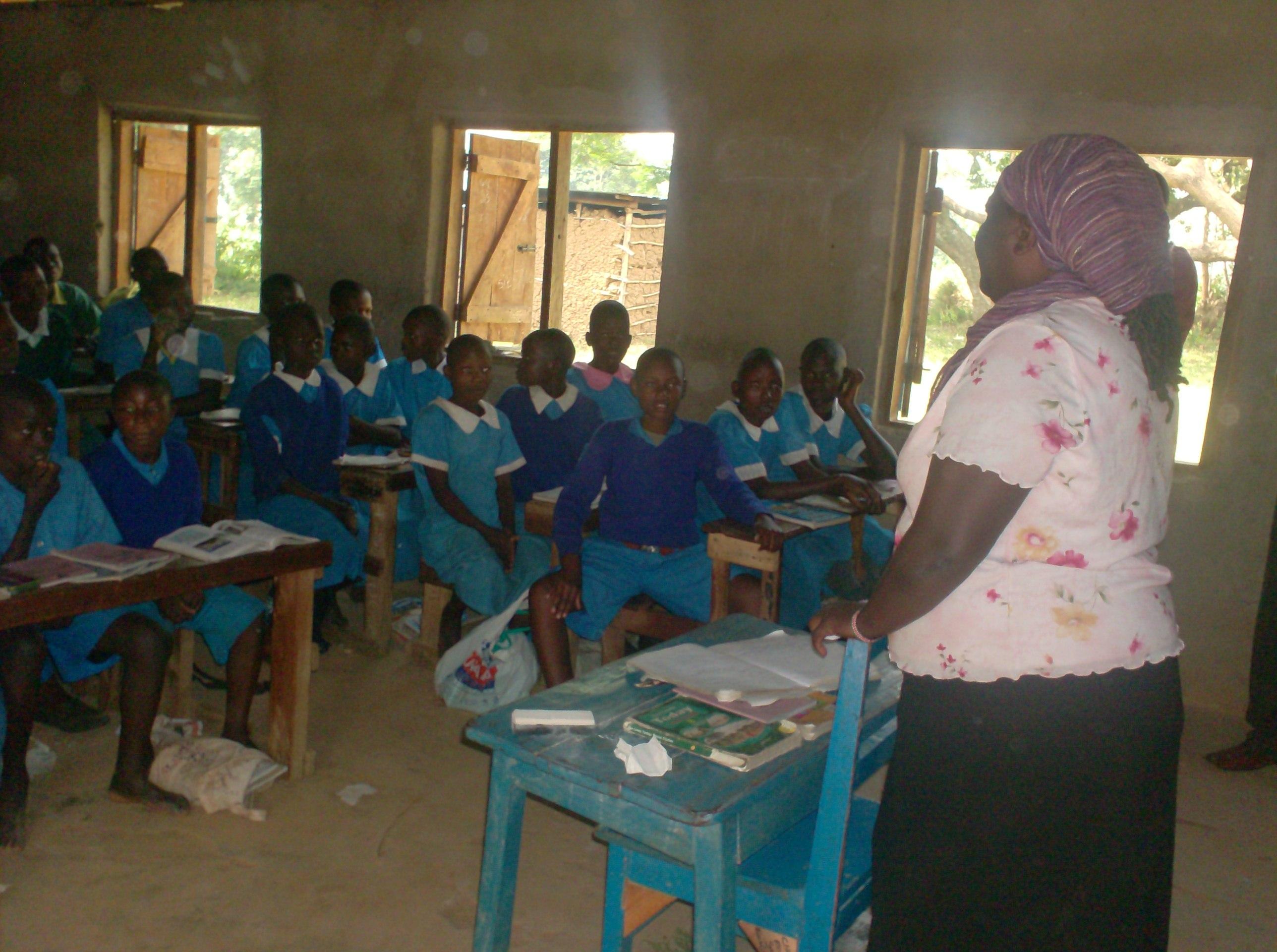 The Water Project : community-education-at-vashele-pri-school