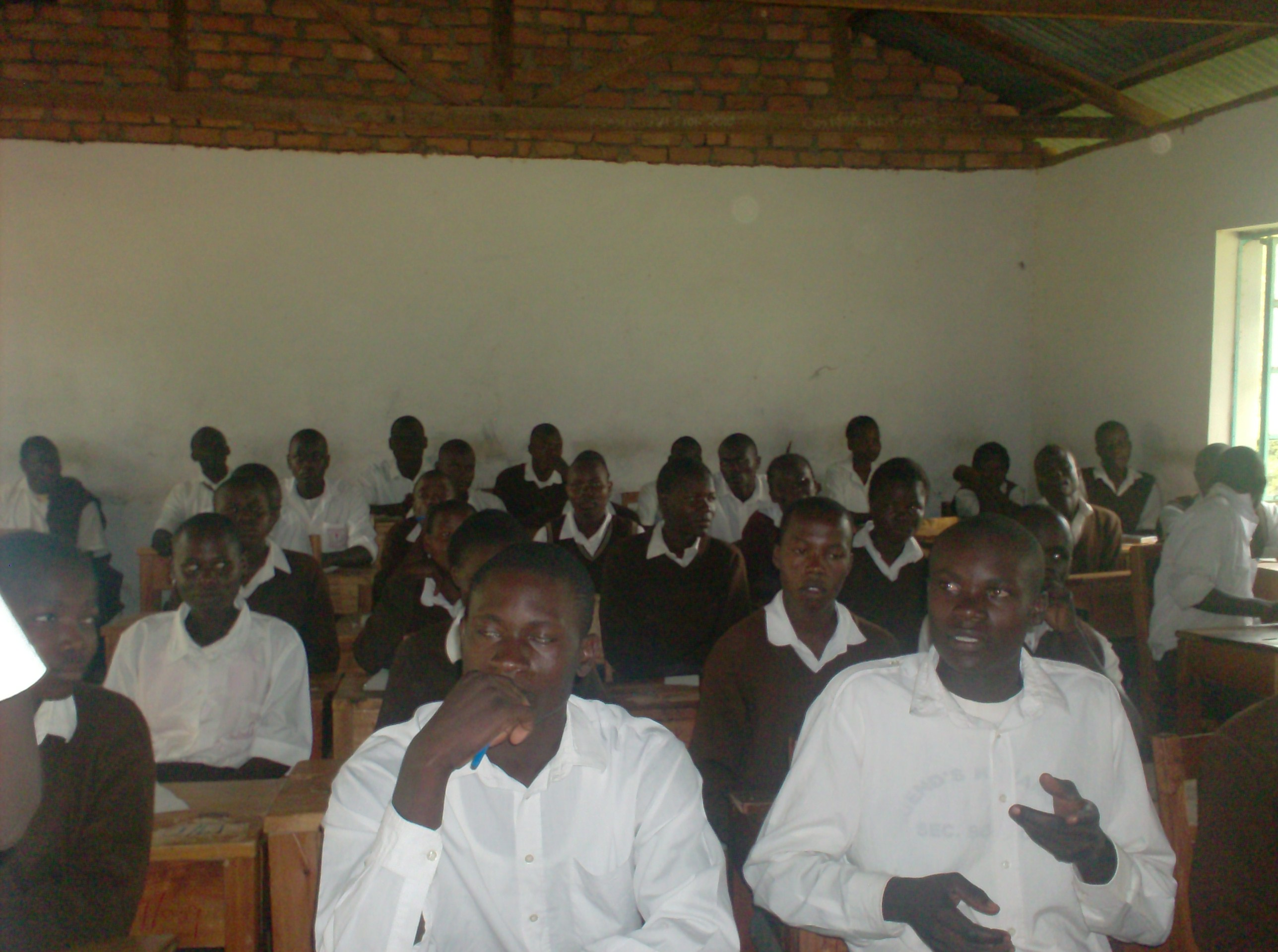 The Water Project : community-education-in-progress-at-kimanget-sec-school