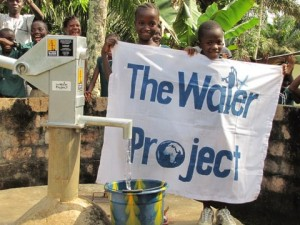The Water Project : plaque