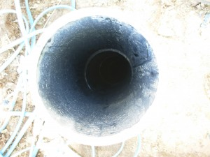 The Water Project : drilled-hole-for-test-pumping
