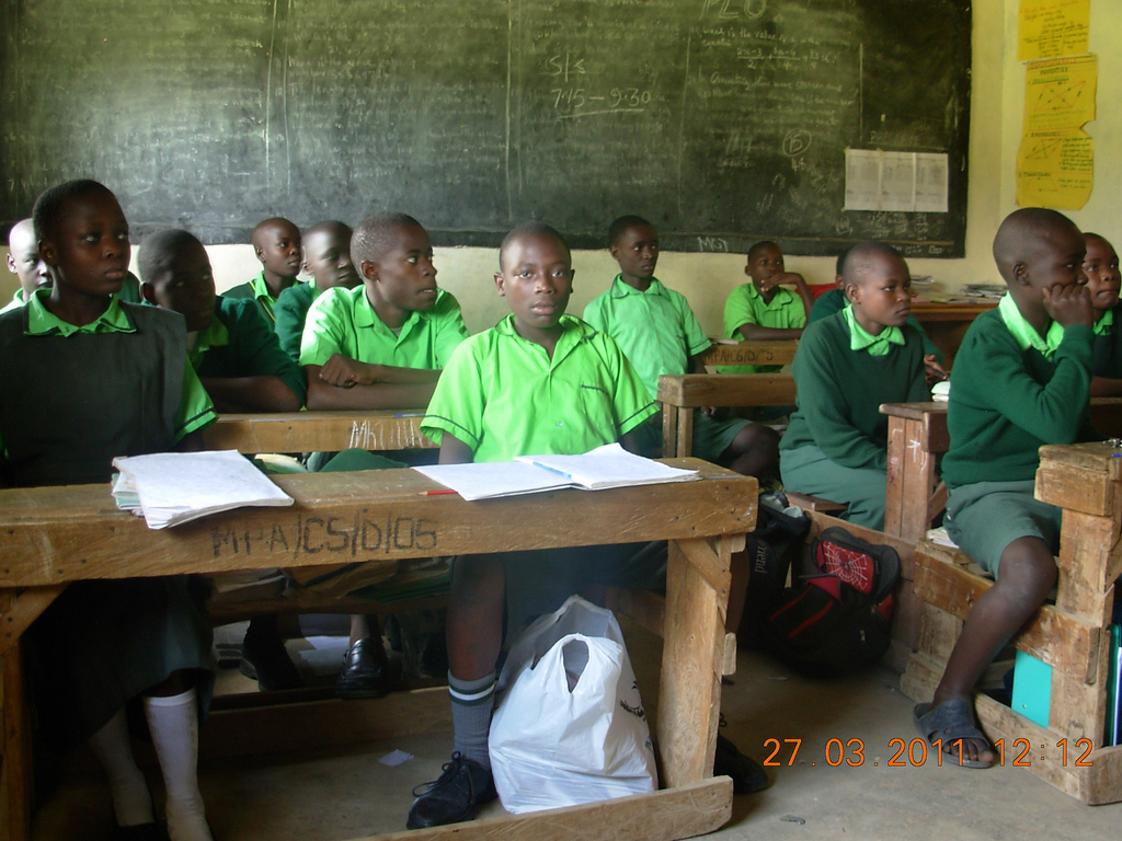 The Water Project : precious-academy-pupils-in-a-sanitation-and-hygiene-class
