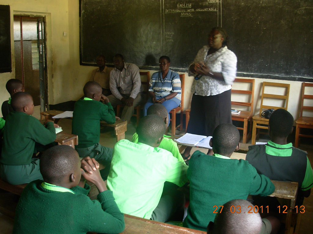 The Water Project : community-education-on-progress-2