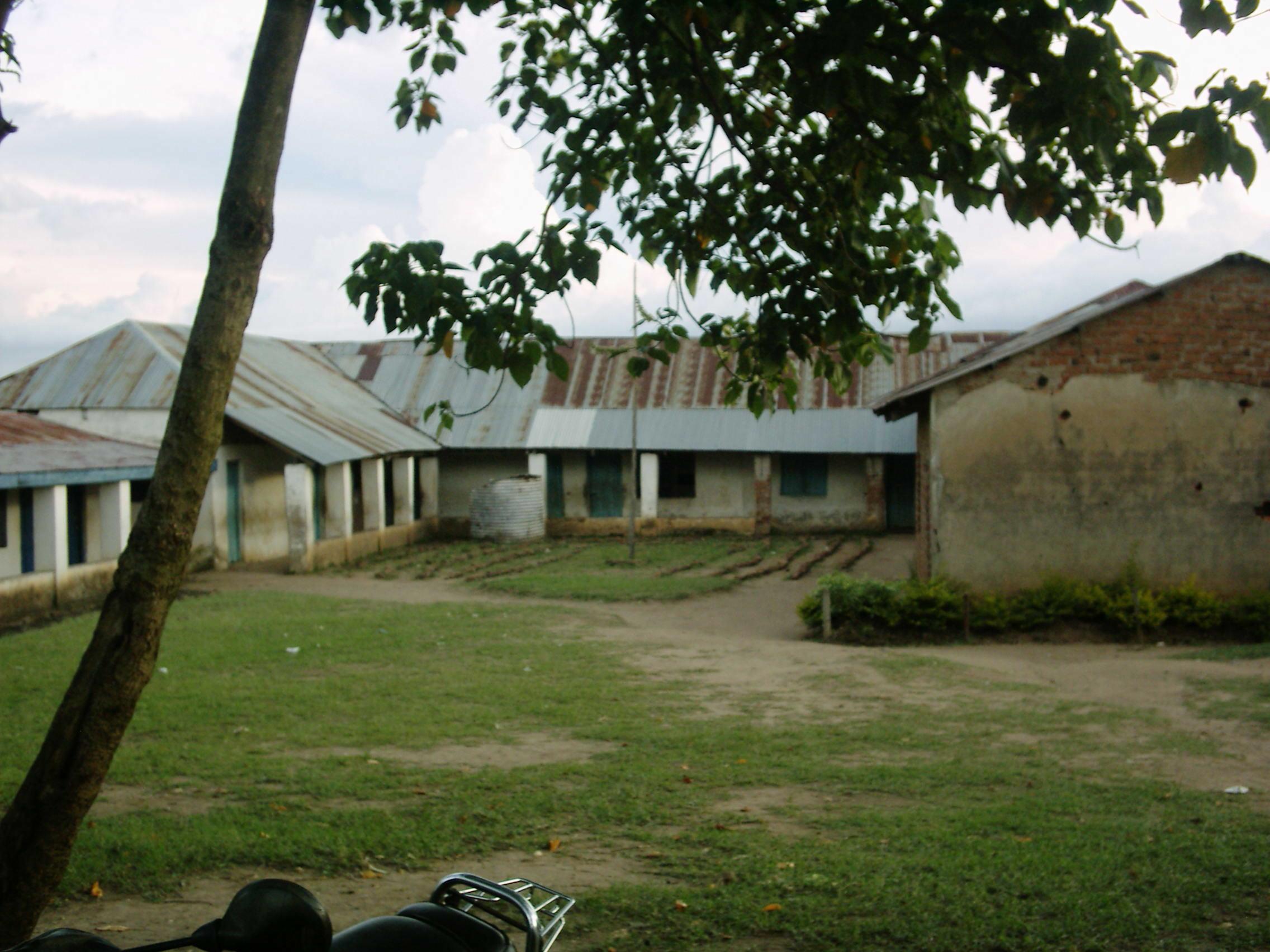 The Water Project : soysambu-deb-primary-courtyard-2