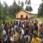 The Water Project: Gbonkowally Village Well Rehabilitation Project -
