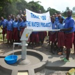 The Water Project: Kishami Primary School Well -