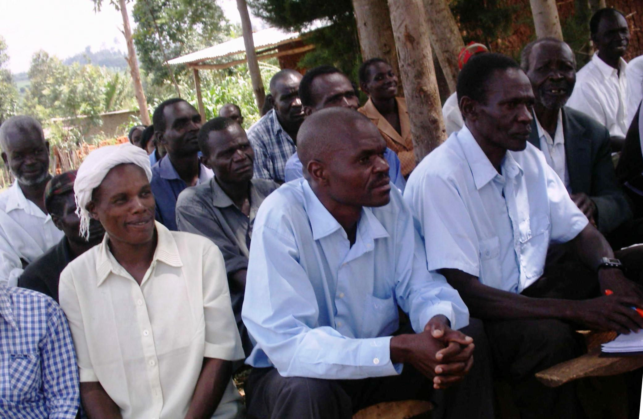 The Water Project : kiminini-community-health-representatives-attending-sabata-wash-training