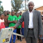 The Water Project: Nyamirama Secondary School Well -